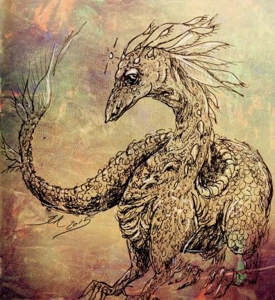 Pocket dragon, artwork by me :-)